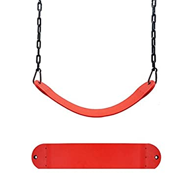 Lookatool Swing Seat Playground Outdoor Swingset Accessories Hanger Kids Child Belt Hanger (Red): Kitchen & Dining