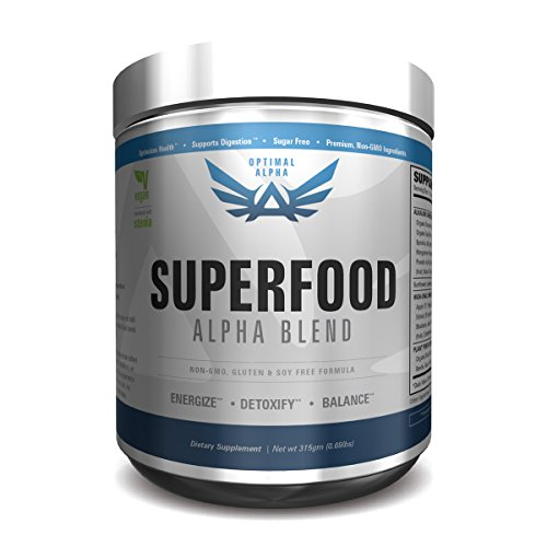 IMSOALPHA | SUPERFOOD | Made From Organic Superfoods | Sweetened With Stevia & Non-GMO | 30 -