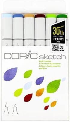 Copic Markers 6 Piece Sketch Set Skin Tones I Buy Online