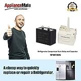 W10613606 Refrigerator Compressor Start Relay