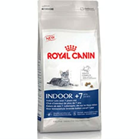 Royal Canin - Comida para gatos de interior 7 Plus 1,5 kg: Amazon.es: Hogar