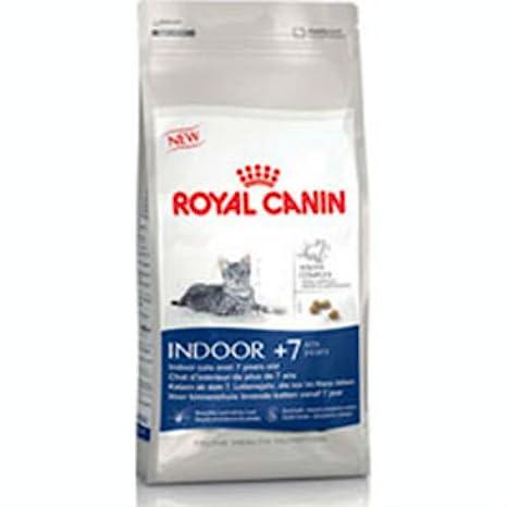 Royal Canin - Comida para gatos de interior 7 Plus 1,5 kg: Amazon.es: Hogar