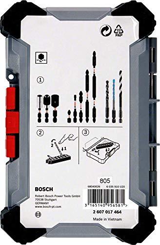 Bosch Professional 2607017464 Pick /& Click Visseuse sans fil 40 pi/èces valise