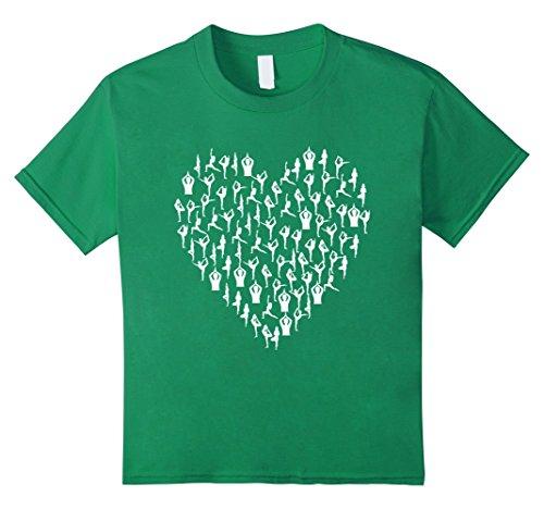 unisex-child-yoga-love-heart-t-shirt-yogi-hatha-raja-ashtanga-graphic-tee-10-kelly-green
