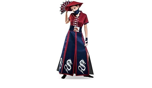 Disfraz de Ninja para mujer: Amazon.es: Juguetes y juegos