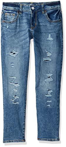 - Gymboree Girls' Big Girlfriend Jeans, Light wash rip/Repair, 8