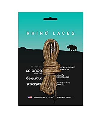 """Rhino Laces (36"""", Coyote Brown)"""