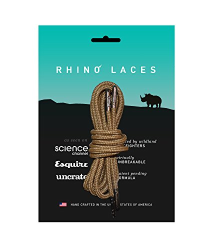 Dark Brown Rhino - Rhino Laces (70