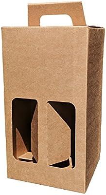 Botella de cerveza y sidra, caja de cartón resistente para 4 ...