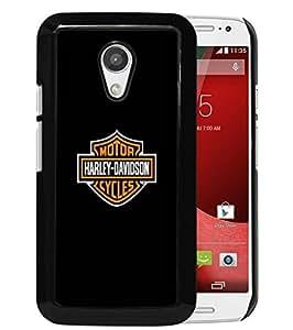 Excellent protection,Lightweight and durable Harley Davidson Black Motorola Moto G (2nd generation) Case