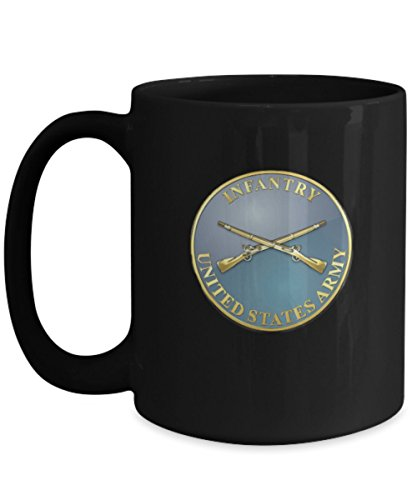 Infantry Coffee Mug - Circle