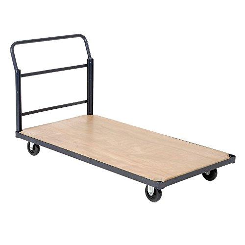 - Steel Bound Platform Truck w/Wood Deck, 60 x 30, 5