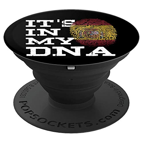 (It's In My DNA Spanish Pop Socket Espana Gifts Spain Flag - PopSockets Grip and Stand for Phones and)
