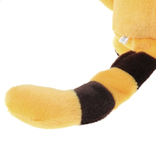 Shoresu Big Face Cat Pet Plush Toy Hot Cute Speak Talking Sound Record Hamster Educational Toy for Children Gift Yellow 45 cm