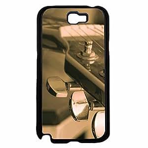 Guitar Head TPU RUBBER SILICONE Phone Case Back Cover Samsung Galaxy Note II 2 N7100