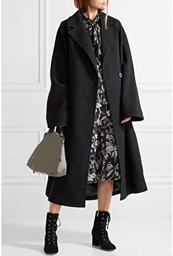 2018 Autumn Winter Women Oversized Cassic Simple Wool Maxi Long Coat Female Loose Outerwear