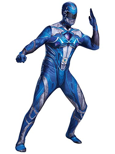 Power Rangers Blue Ranger Adult Costume XL 42-46 by Disguise -