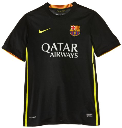 Nike Barcelona Third Replica Jersey [Black] (L)