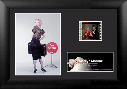 Limited Edition Collectible Movie Plaque - Trend Setters Ltd Marilyn Monroe S8 MGC Minicell Film Cell