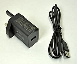 Brand New Dell Dell 10W Adapter 3 Pin UK USB Plug + USB Cable 450-ABPG.