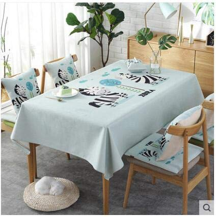 Europe luxury embroidered tablecloth table dining table cover table cloth Simple fabric waterproof tablecloth coffee table cloth   B07R7NMG9J