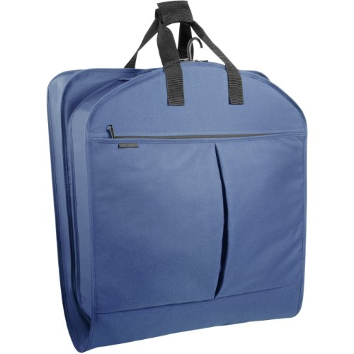 WallyBags 52-inch Dress Length, Carry-On, XL Garment Bag with Two Pockets and Extra Capacity by Wally Bags (Image #2)'