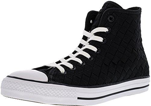 Core Converse Star Taylor All Black White Hi Black Chuck 6qrI6