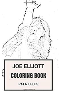 Amazon.com: Def Leppard Coloring Book: Legendary Hard Rock and ...