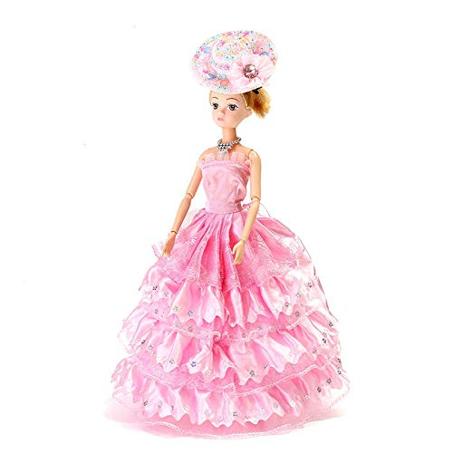 Dress Up Doll Set Gift Box Princess Wedding Dress Every Family Child Toys - Dolls & Stuffed Toys Dolls & Action Figure - (B) - 1x Dream catcher heart