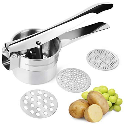 FREDI Potato Ricer/Vegetables and Fruit Masher Food Ricer Makes Light