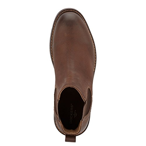 Pictures of Dockers Men's Stanwell Chelsea Boot Chocolate 6