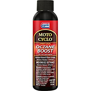Cyclo MOTO CYCLO Octane Boost, 2 & 4 Cycle Engines, 4 fl oz, Case of 6