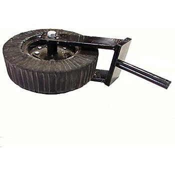 "1-1//4/"" Tail Wheel Fork Yoke w// 0.75/"" Axle Hole /& 4.25/"" Usable Length"