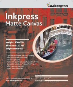 Inkpress Ld5720 Commercial Luster Duo Inkjet Paper 5in. X 7in. 20 Sheets