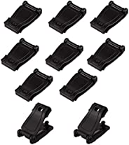 IronSeals 10-Pack Multipurpose MOLLE Clip Tactical Strap Management Tool Web Dominator Buckle for Tactical Bag