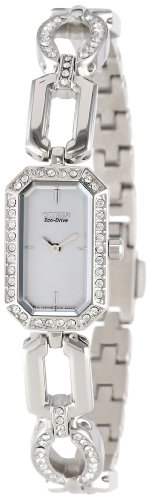 Citizen Women's EG2760-56A Eco-Drive Silhouette Crystal Jewelry Watch (Ladies 56a Watch)