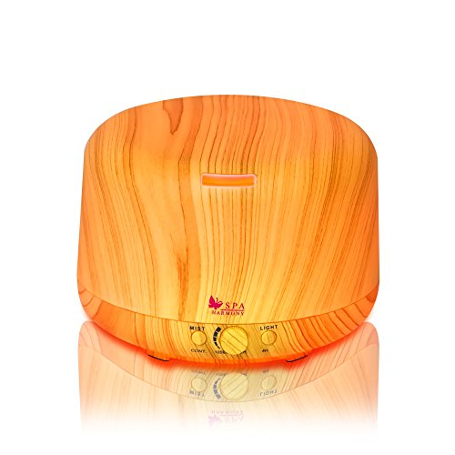 SPAharmony Aromatherapy Essential Ultrasonic Humidifier product image