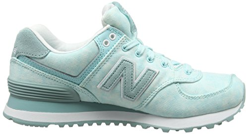 Femme Basses Sneakers New Balance Wl574swb Bleu turquoise FHIF1w