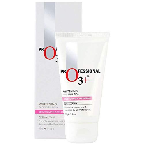 O3+ Whitening Face Emulsion Skin Whitening Fairness Cream, 50g