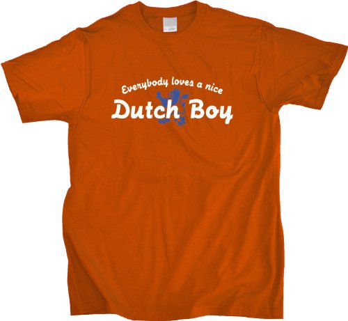 EVERYBODY LOVES A NICE DUTCH BOY Unisex T-shirt Cute Netherlands Tee