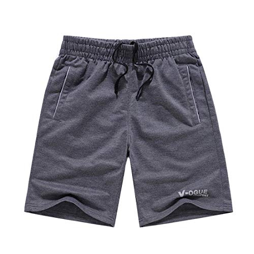 Abbigliamento Maschile Knit Da Pantaloncini Coulisse Interni Con Moda Beach Locker Slip Festivo Senza Casual Dunkelgrau Pantaloni Uomo ZwwYUz
