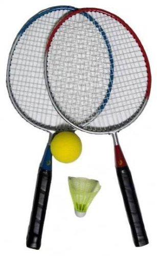 Best Sporting Mini Badminton Set 2 Schläger inklusive Federball, Softball und Schaumstoff-Federball) 41154