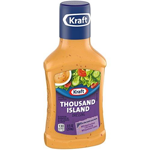 Kraft Dressing, Thousand Island, 8 oz