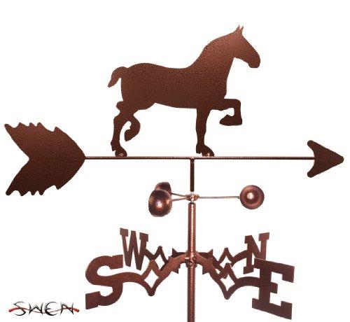 (SWEN Products Hand Made Draft Horse Garden Stake Weathervane)