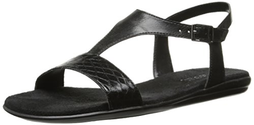 Aerosoles Sandalias de las mujeres del mundo chlass Black Snake