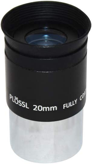 1.25 Plossl Telescope Eyepiece 15mm Threaded for Standard 1.25inch Astronomy Filters 4-Element Plossl Design