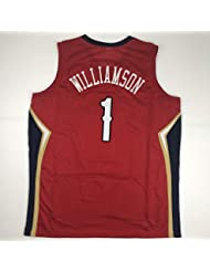 80f444e67 Unsigned Zion Williamson New Orleans Red Custom Stitched Basketball Jersey  Size Men's XL New No Brands