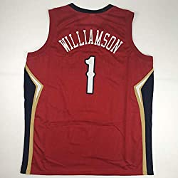 For sale is a custom Zion Williamson jersey, size is a Men's XL. Jersey has no brand names or logos. This is a custom jersey and was not manufactured by or in any manner associated with any professional sports league or manufacturer. This custom jers...