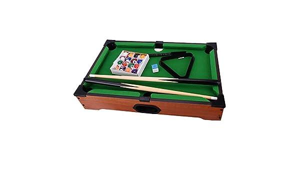 Billar Snooker Plegable Mesa de Billar for el Mini Niño Mesa de Billar Bola de Billar Inicio Conjuntos de Juegos Los niños de Mesa Juguete (Color : Verde, tamaño : 51x31x8.5cm): Amazon.es: