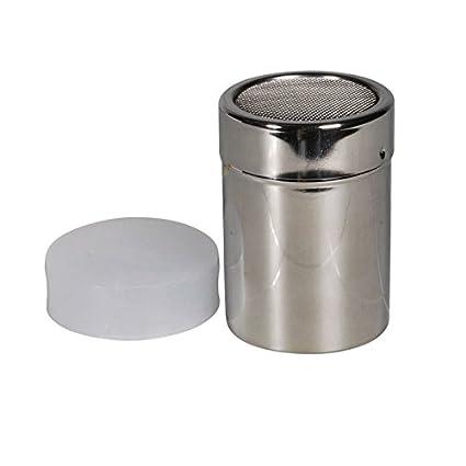 Dispensador de azúcar glas salero para azúcar glas acero ...